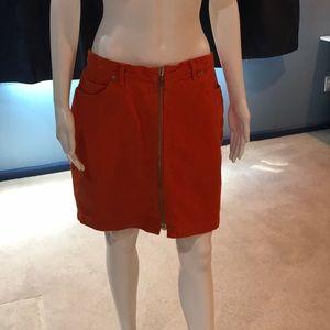 Anne Klein Jean skirt